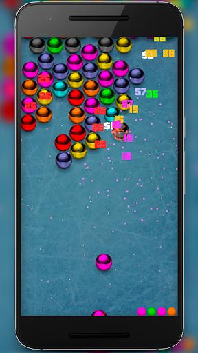 Magnetic balls bubble shoot screenshot 1