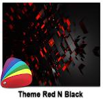 Theme - Red N Black Icon