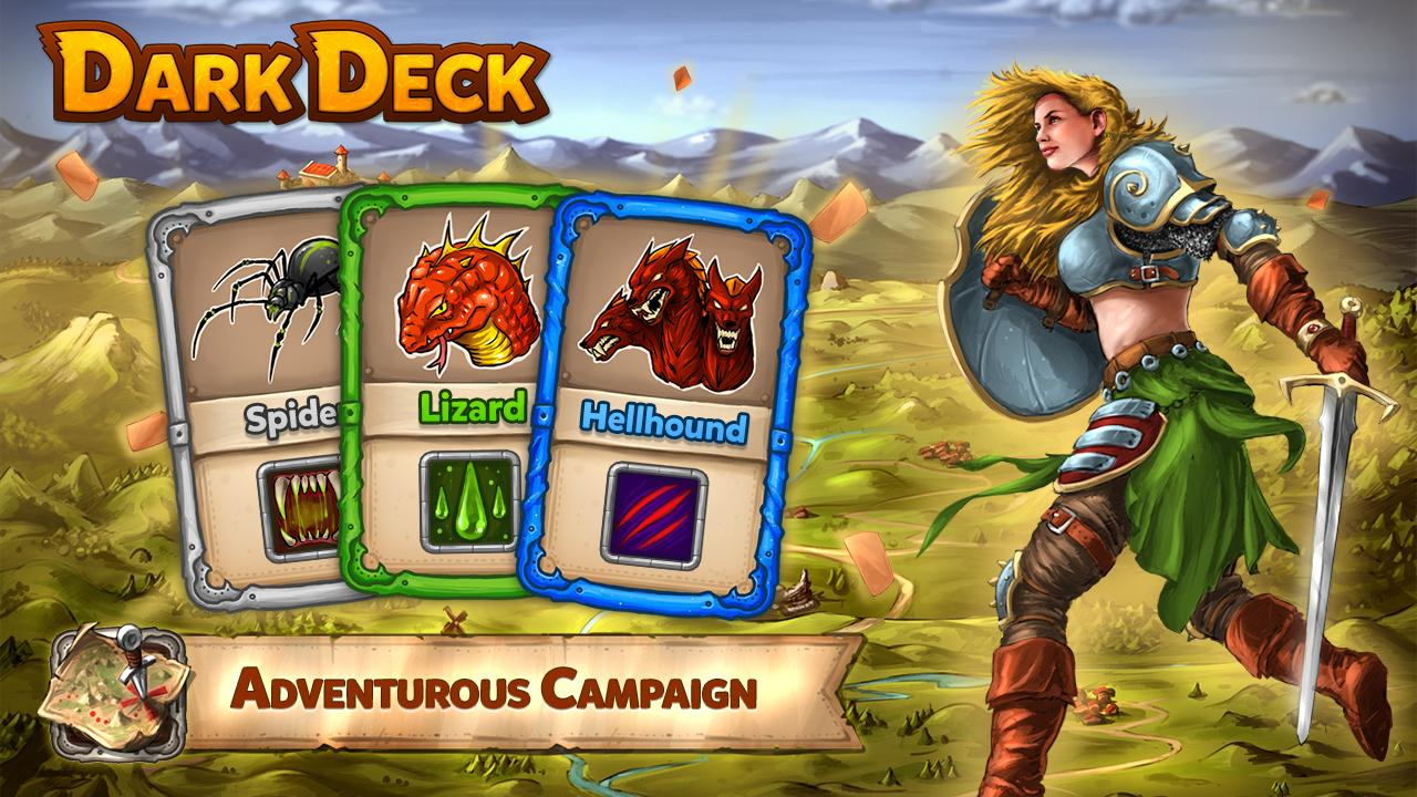 Dark Deck Dragon Card CCG Screenshot