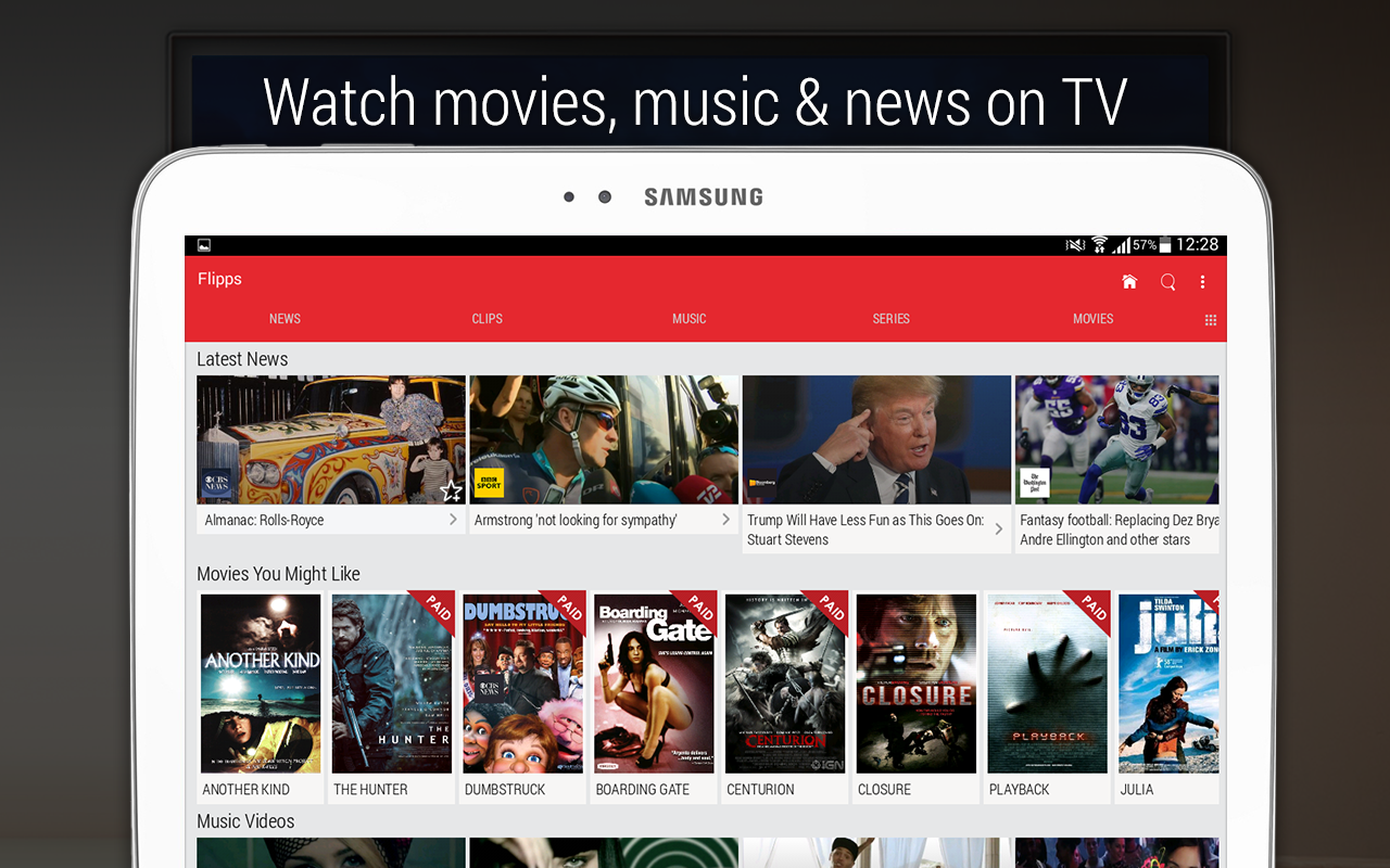 Flipps – Movies, Music & News Screenshot 8