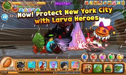 Larva Heroes: Lavengers 2014 - screenshot