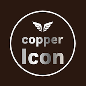 New HD Copper Iconpack theme Pro For PC