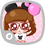 Lovely Girl Theme APK Image