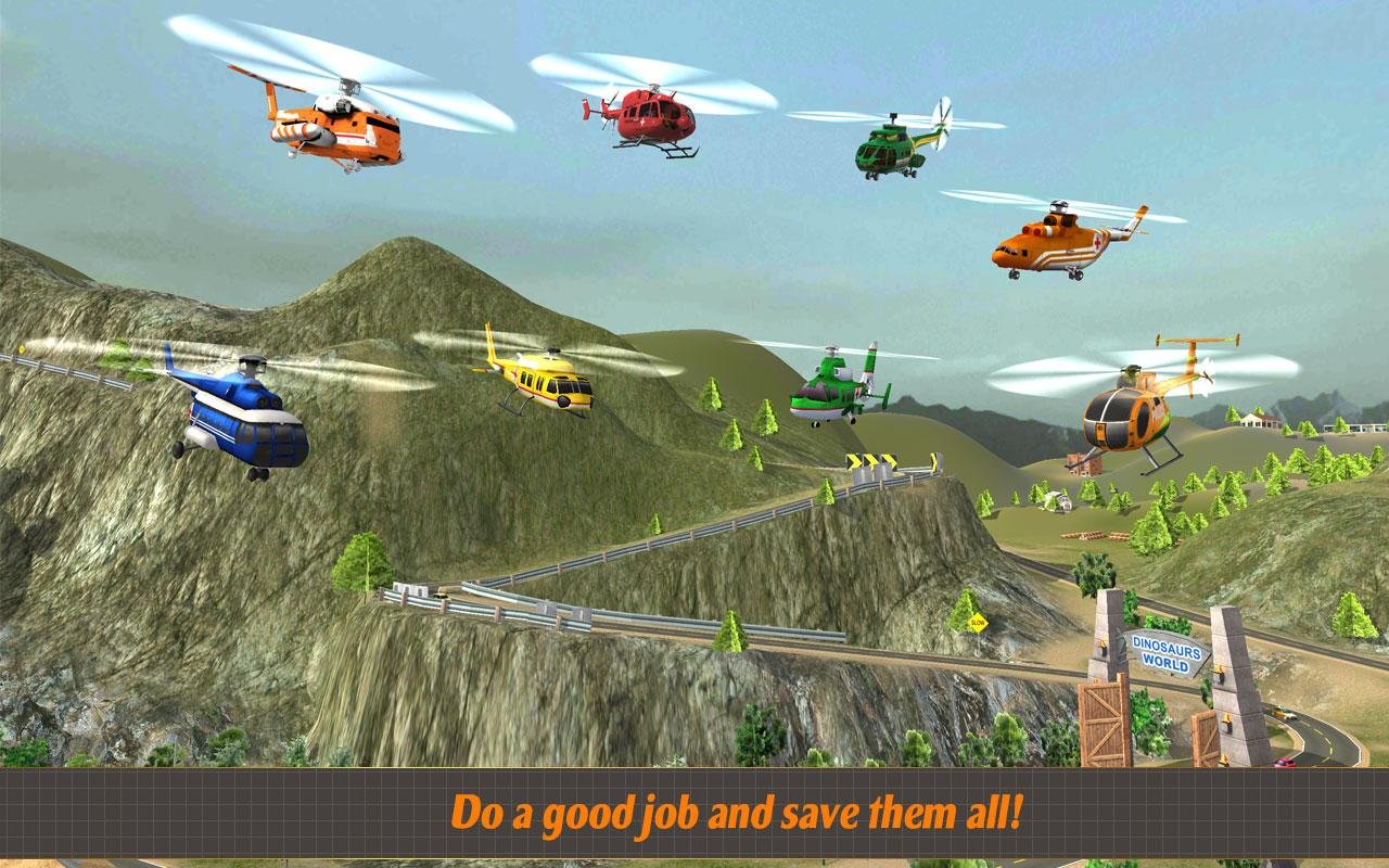 Helicopter Hill Rescue 2017 Screenshot 4