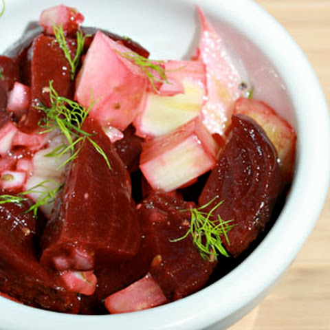 Beet And Fennel Salad