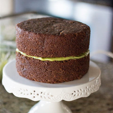 Vegan Chocolate Cake with Avocado Buttercream Frosting