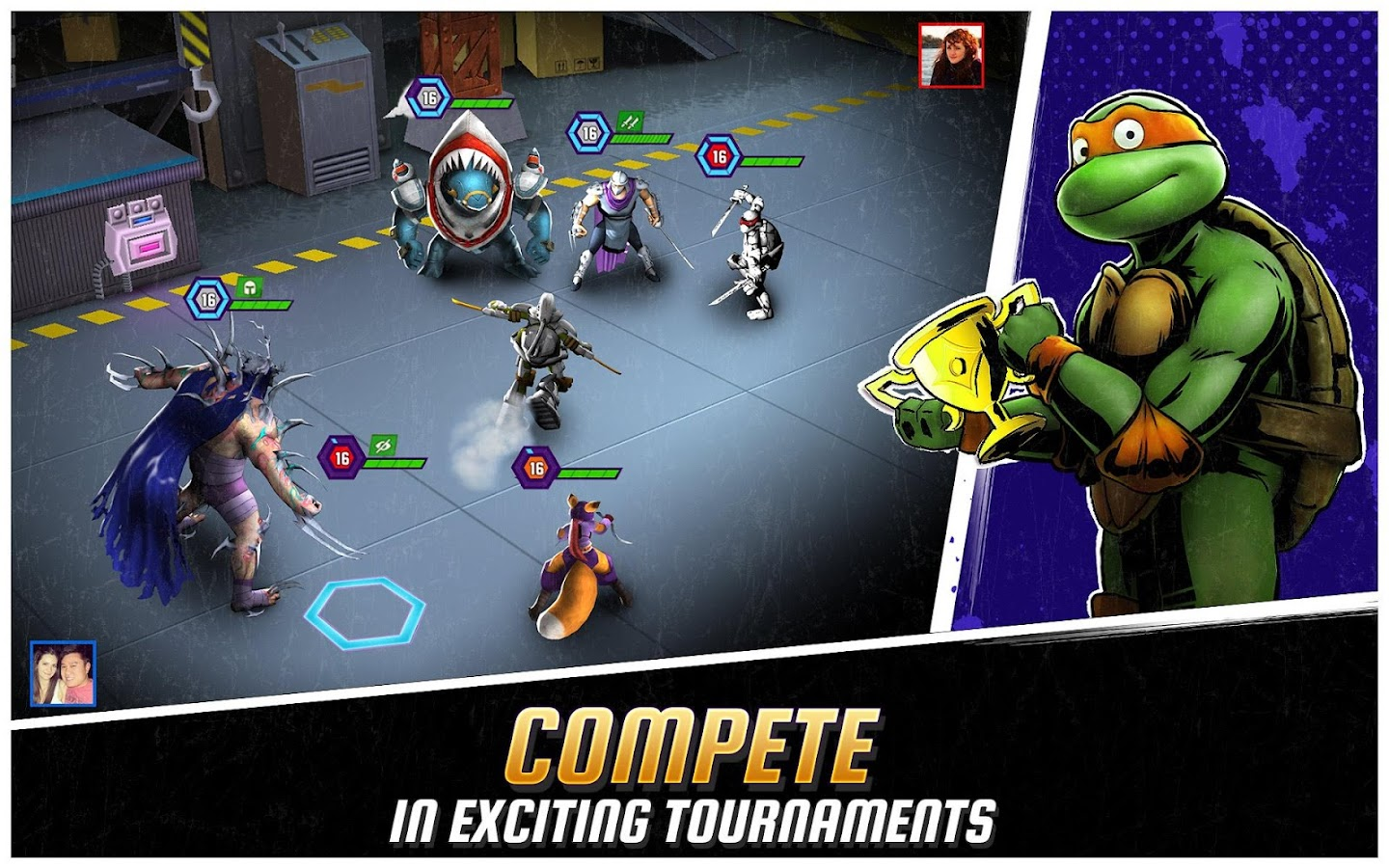 Ninja Turtles: Legends Screenshot 2