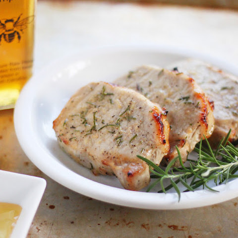Honey Rosemary Pork Chops