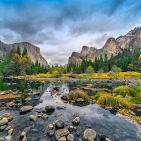 Yosemite Valley by Crispin Lee - Landscapes Mountains & Hills ( garyfonglandscapes, holiday photo contest, photocontest,  )