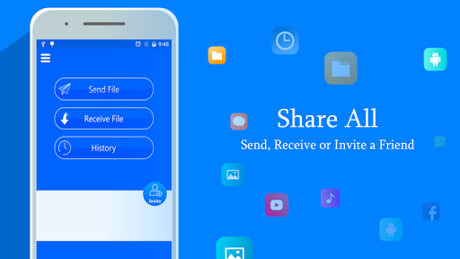 SHARE ALL for Me : File Transfer & Data Sharing Apk Download Free for PC, smart TV