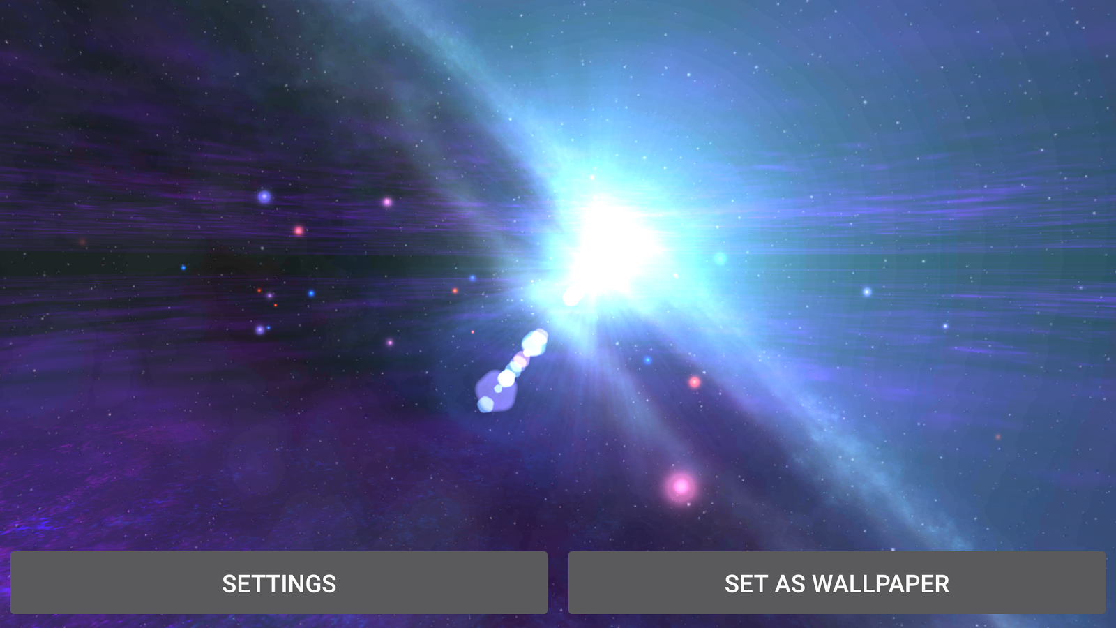 Alien Galaxy 3D Live Wallpaper Screenshot 10