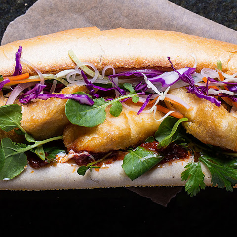 Tempura Red Snapper Banh Mi