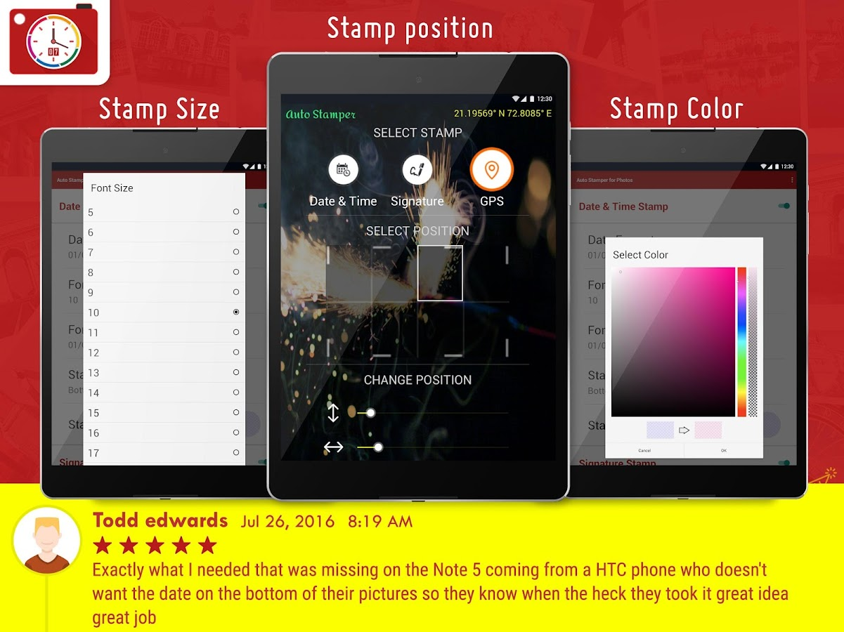 Auto Stamper: Stamp your Photo Screenshot 12