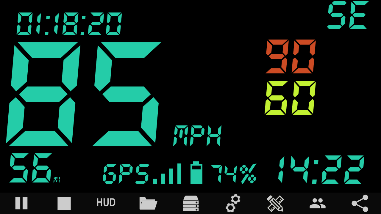 Custom HUD Speedometer Pro Screenshot 3