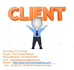 Client Profile Collection Services Provider in Nashik