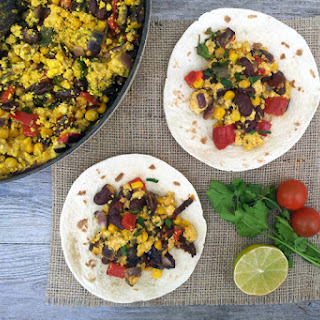 Mexican Tofu Scramble [vegan]