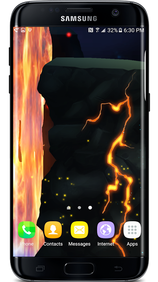 Firefly Jungle Live Wallpaper Screenshot 5