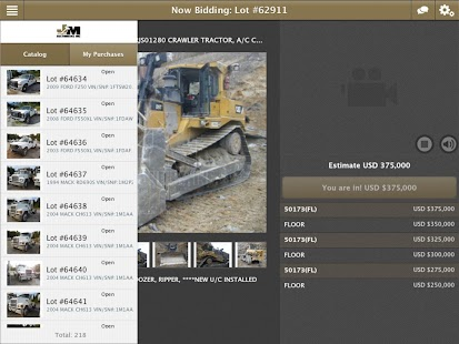 Jeff Martin Auctioneers - screenshot