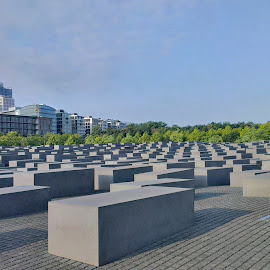 Memorial to the Murdered Jews of Europe, Berlin by Warren Edgar-Gillespie - Buildings & Architecture Statues & Monuments (  )