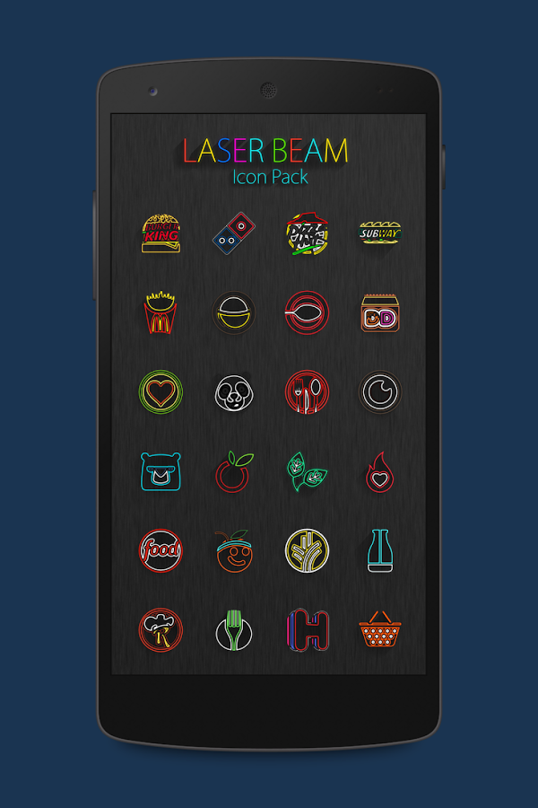 Laser Beam Icon Pack Screenshot 0