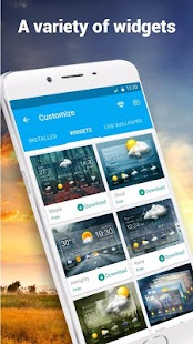 App Detailed weather information apk for kindle fire