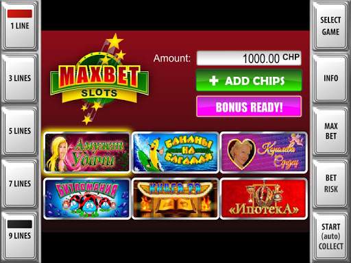 MAXBET Black - slot machines - screenshot