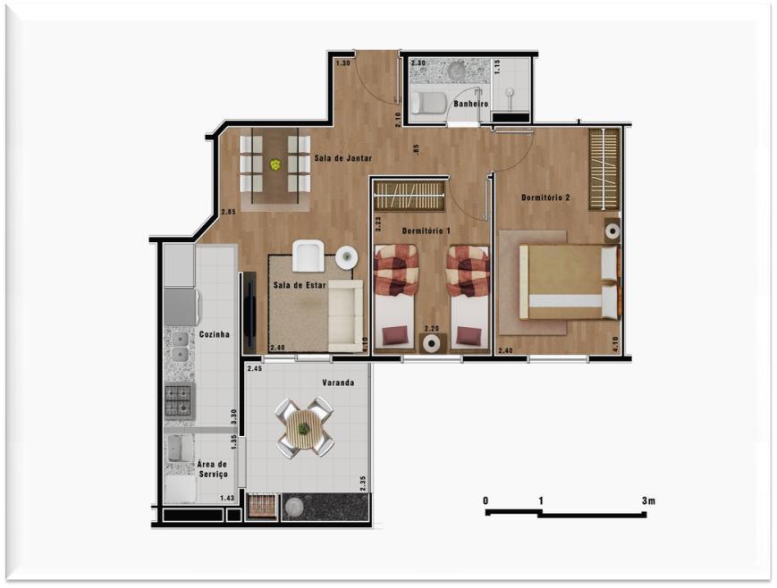 Apartamento à Venda - Parque Sete de Setembro
