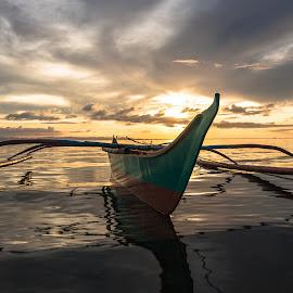 Connection by Karen Lee - Transportation Boats