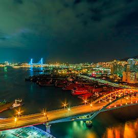 by Eko Ari - City,  Street & Park  Night