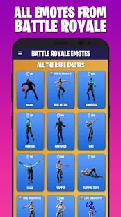 BATTLE ROYALE EMOTES
