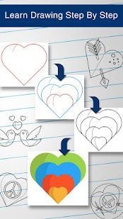 How to Draw Hearts - screenshot