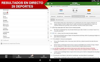 Screenshot of Mis Marcadores