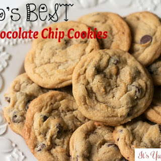 Boo's BEST Chocolate Chip Cookies