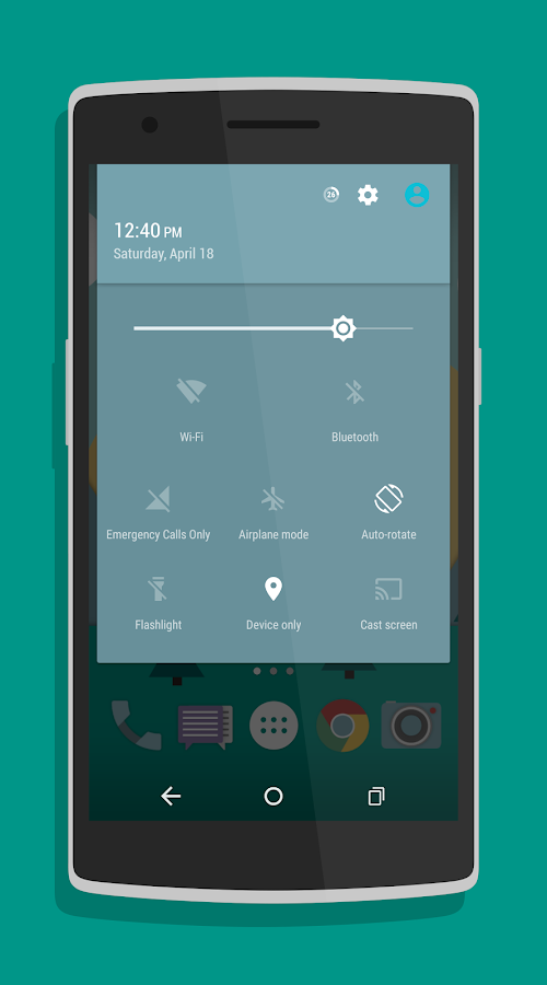Roam Plus (CM12/CM13 Theme) Screenshot 1