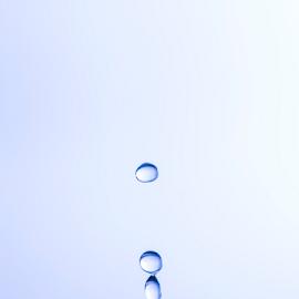 Drops by Xióng Xióng - Abstract Water Drops & Splashes ( water, life, waterdrop, blue, waterforlife, singledrop )