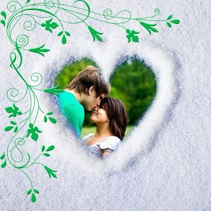 Romantic Nature Photo Frame