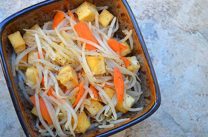 Bean Sprout Tofu Recipe Tofu And Bean Sprouts