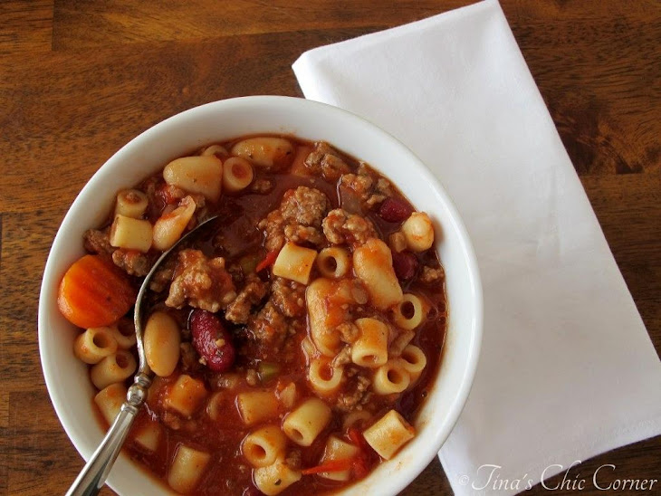 ... bean soup 30 minute pasta and kidney bean soup pasta e fagioli