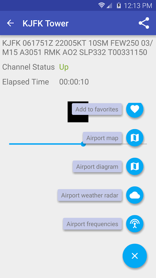 LiveATC for Android Screenshot 1