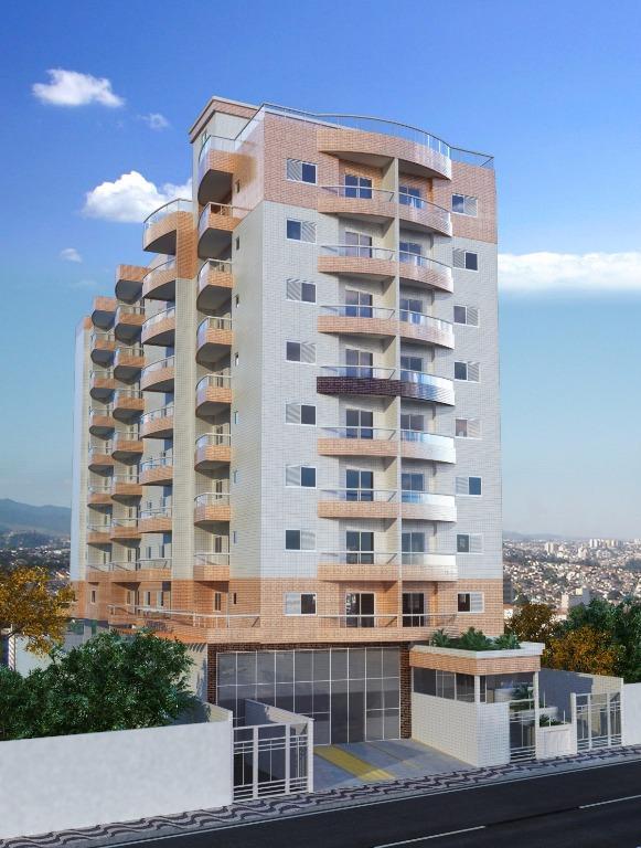 Apartamento de 1 dormitório em Campo Da Aviação, Praia Grande - SP