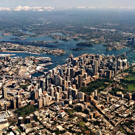 Sydney Fly Over by Sam Medzic - Novices Only Landscapes (  )