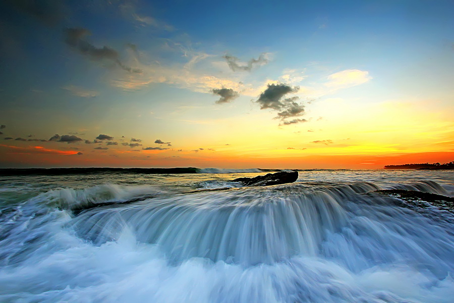 Let It Flow by Agoes Antara - Landscapes Waterscapes