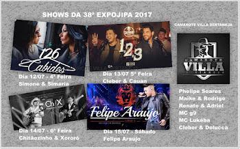 Shows da Expojipa 2017