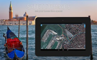 Screenshot of Maps and navigation