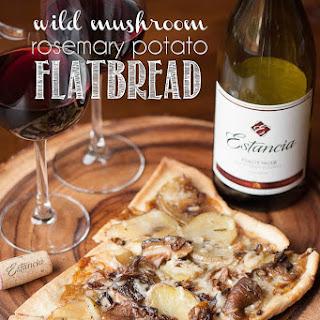 Wild Mushroom Flatbread Recipes
