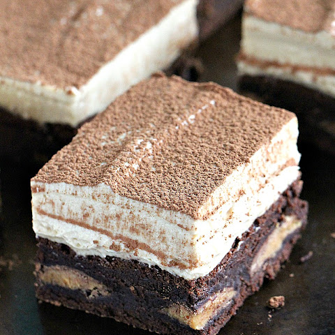 Peanut Butter Mousse Brownies