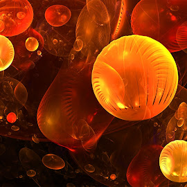 Bubbles by Cassy 67 - Illustration Abstract & Patterns ( bubble, digital art, fractal art, fractal, fractals )