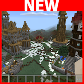 Rexzy's Village Minecraft map APK for Bluestacks