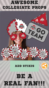 Ohio Staats-Rosskastanien Selfie Aufkleber android apps download