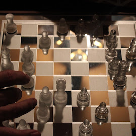 Chess game  by Josh Pingel - Novices Only Objects & Still Life ( chess )